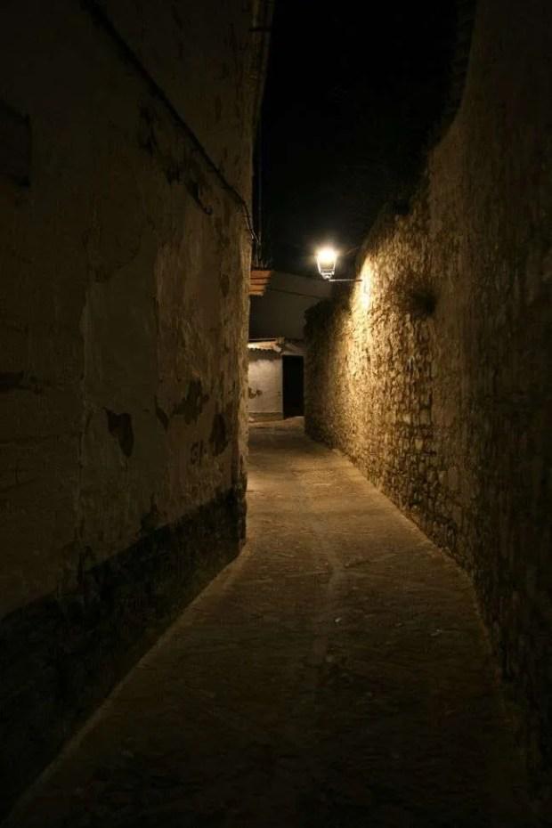 Baeza di notte