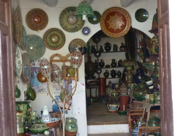 Un laboratorio di ceramica nel quartiere San Milan di Ubeda