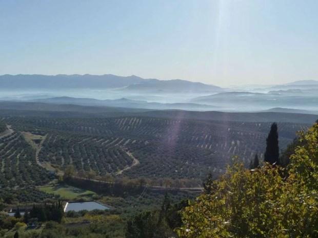 Panorama della provincia di Jaén
