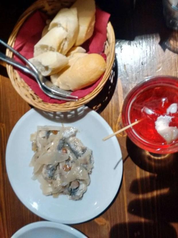 Mangiare a Venezia - Sarde in saor a Ruga Rialto