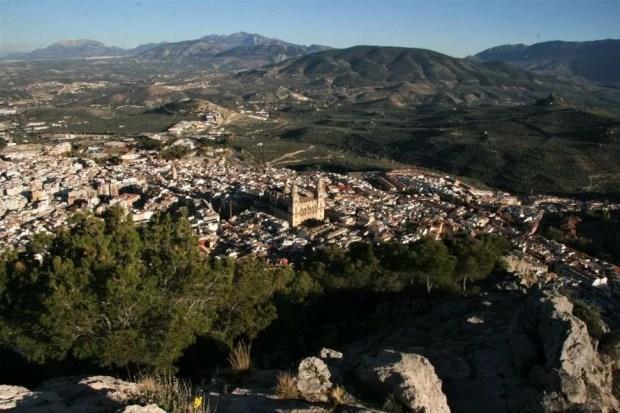 Cosa vedere a Jaén: vista dal castello