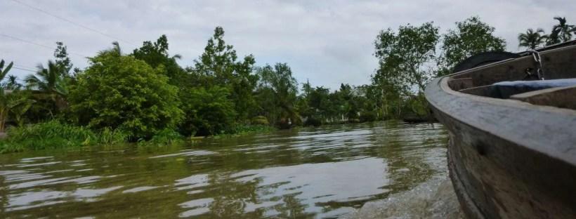 Navigando lungo il Delta del Mekong