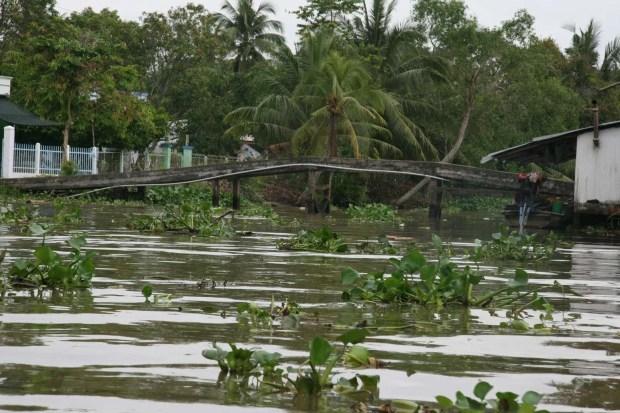 I canali minori del delta del Mekong