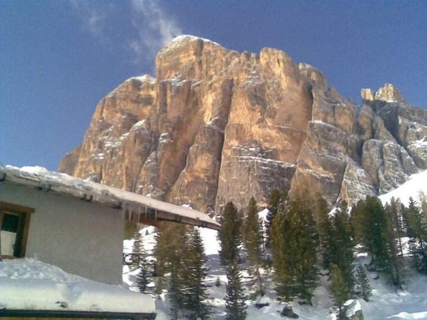 Escursioni con le ciaspole da Cortina: Rifugio Dibona