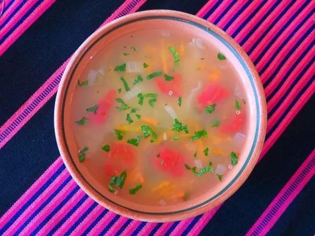 La cucina peruviana: zuppa di quinoa