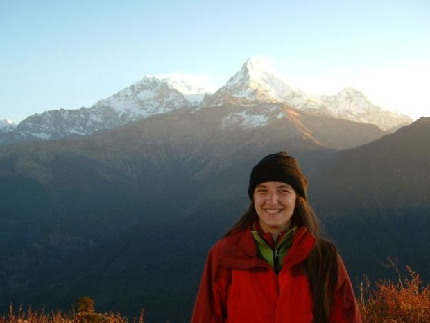 Circuito dell'Annapurna: Tipico esempio di abbigliamento a strati