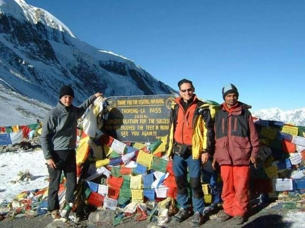 Il Passo Thorong La, il punto più alto del trekking