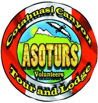Il logo di Asoturs, l'associazione di volontari che si occupano dello sviluppo di un turismo responsabile