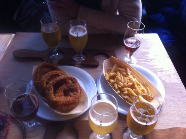Dove mangiare a Londra: degustazione di birre a The Draft House - Tower Bridge