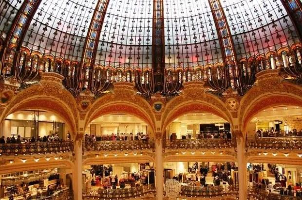 Cosa fare a Parigi: le Galeries Lafayette