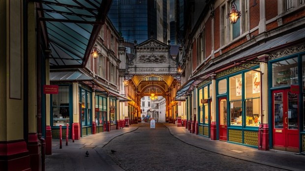 Londra low cost: Leadenhall Market