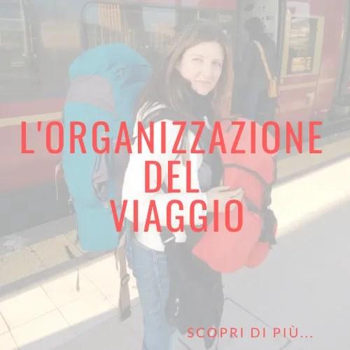 L'organizzazione del viaggio blog