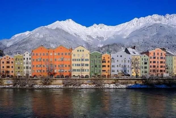 La vista più classica di Innsbruck in un giorno