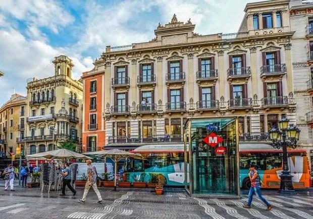 Mezzi pubblici a Barcellona