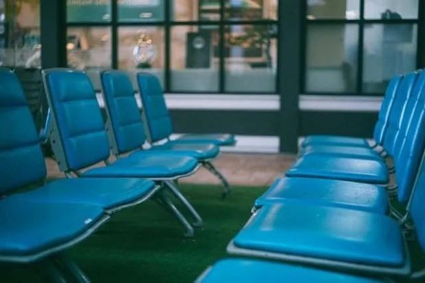 L'attesa in aeroporto