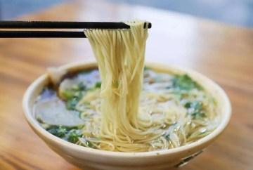 I lamian e l'autentica cucina cinese