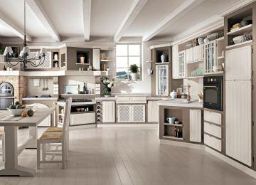 Cucina Classica Contemporanea | Laura Cucina By Cucine Lube