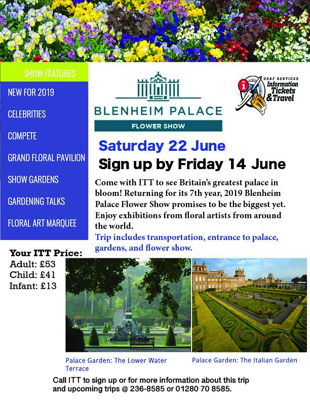 ITT Blenheim Palace Flower Show