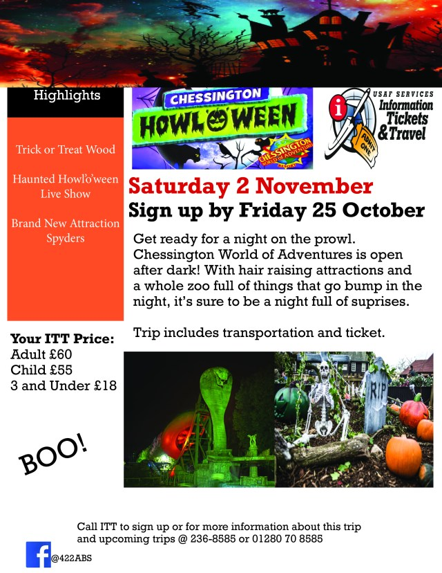 Chessington World Spooktacular 2019