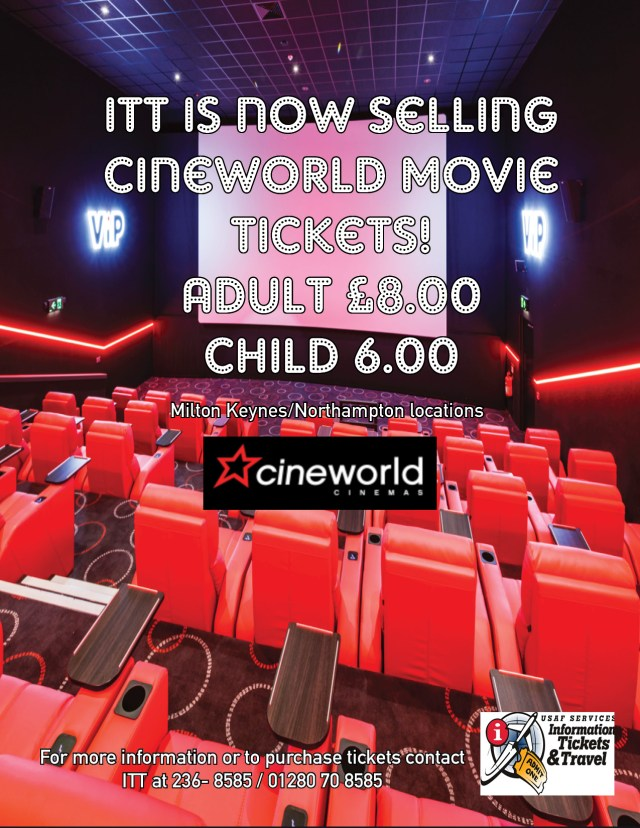 Croughton Cineworld 2019