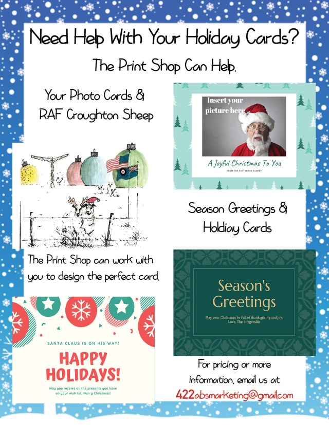 Print Shop Holiday Flyer 2019