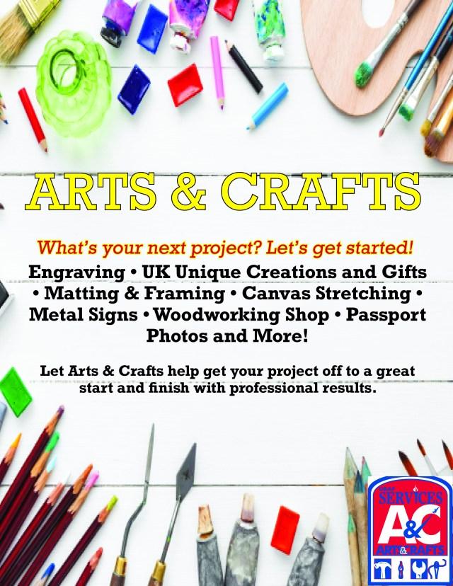 Arts & Crafts A3 Digest