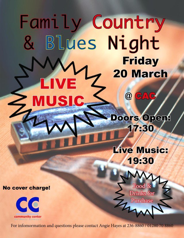 Country & Blues Night 2020 CAC