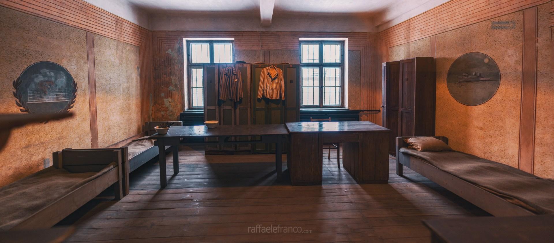 L'alloggio dei Sonderkommando ad Auschwitz