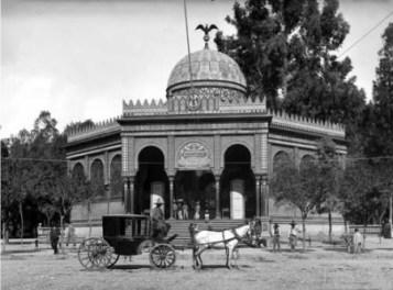 Kiosko morisco. La ciudad de México en el tiempo.