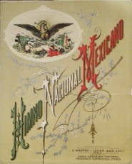 Himno Nacional Mexicano. Colección Carlos Monsiváis. Museo del Estanquillo.