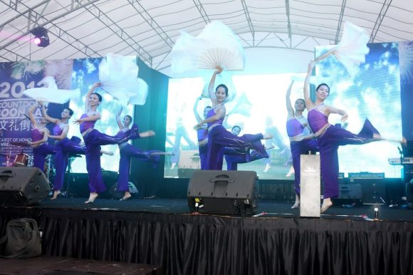 RI Chinese Dance wowing the audience with their graceful moves