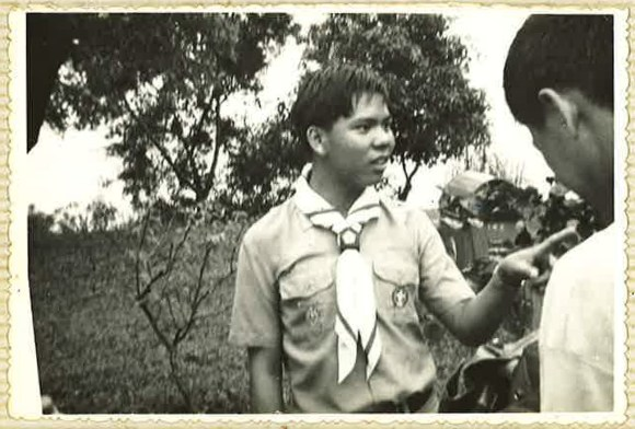 Mr Chan as a Boy Scout