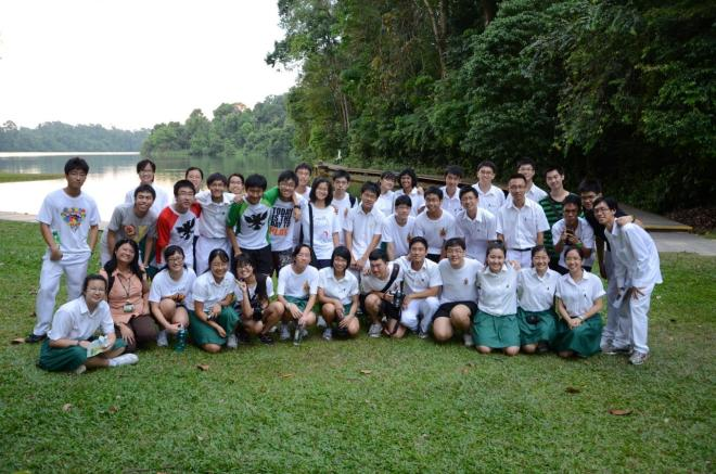 Fieldtrip to MacRitchie Resevoir during a weekly session