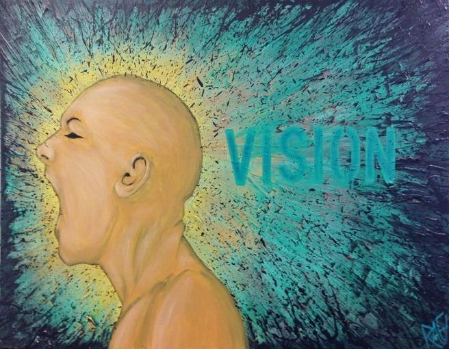 Vision In My Mind By Rafi Perez