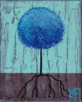 Blue Lolli Tree