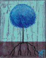 Blue Lolli Tree