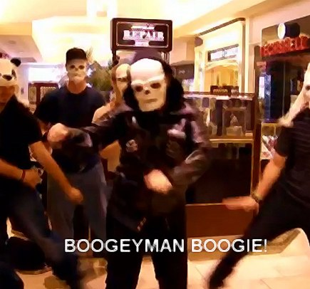 Boogeyman Boogie at Cordova Mall
