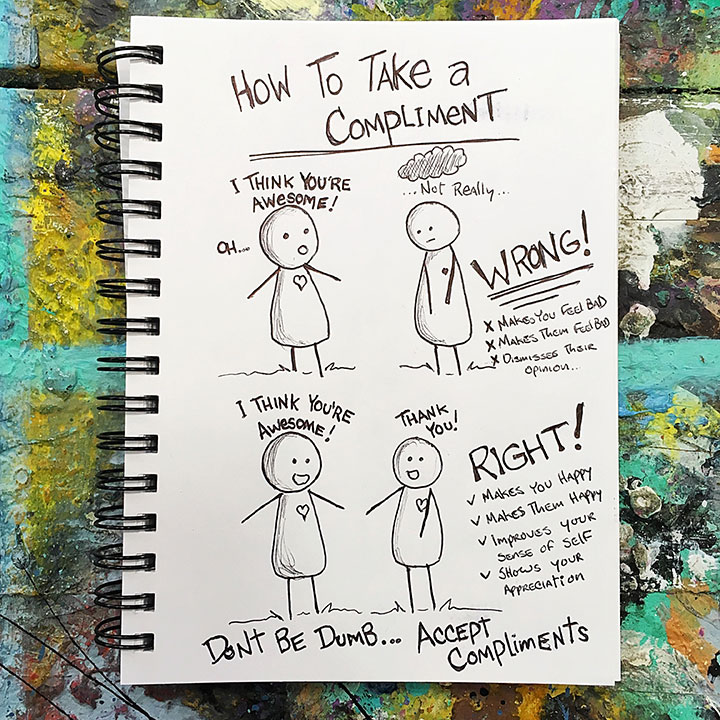 How-To-Take-A-Compliment-By-Rafi-Perez-web