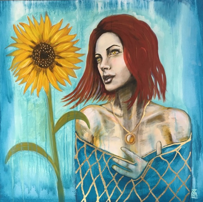 Amber Sunflower (1)