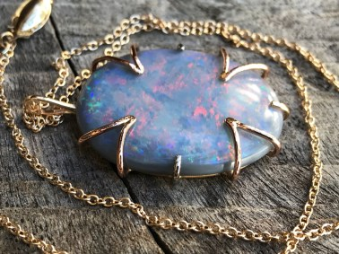 Klee Angelie Fire Flower Opal