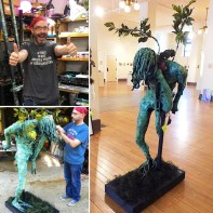Nature Of Being Sculpture By Rafi Perez