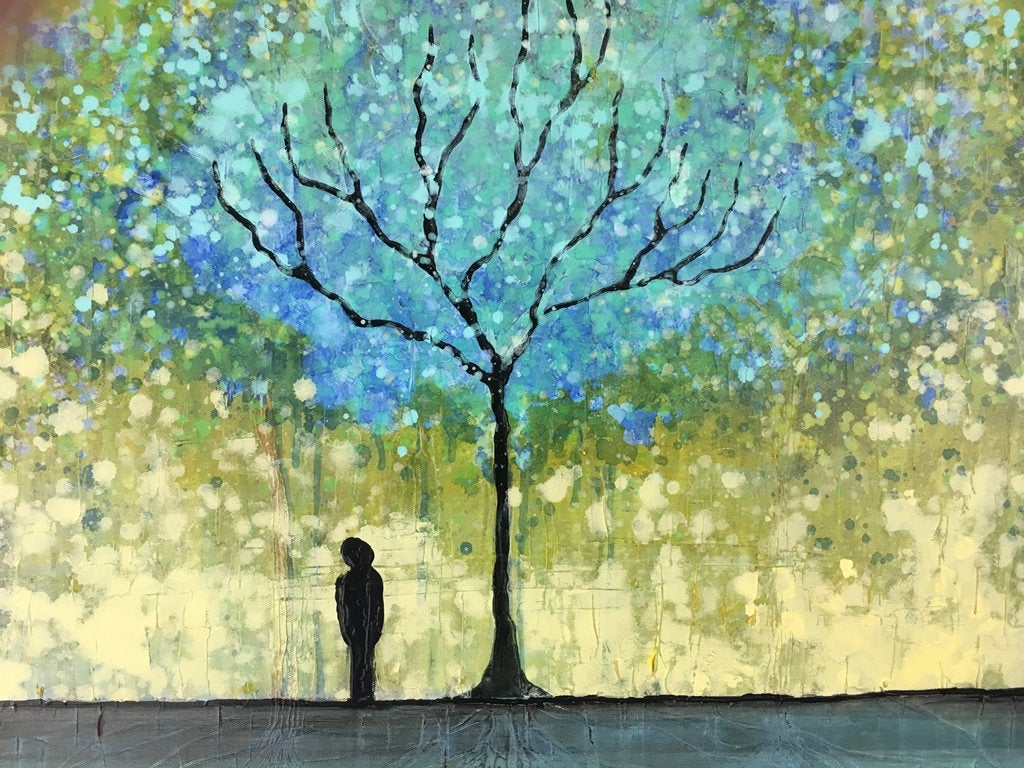 Image result for under wishing tree painting