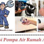 Biaya Pasang Pompa Air