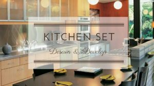 jasa buat kitchen set