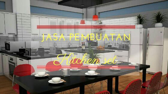 jasa buat kitchen set almunium
