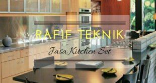 harga pembuatan kitchen set