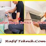 Daftar Harga Service Ac Terbaru