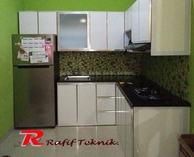 warna kitchen set aluminium warna putih | Service Ac ...