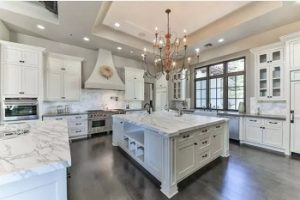 Desain Kitchen Set Klasik Bergaya Eropa & American Style