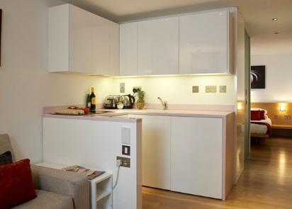 Dapur Apartemen Mini Studio